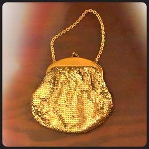 VINTAGE!! GOLD MESH #WHITTINGDAVIS very lux item!